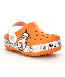 crocs star wars orange & white boys