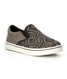 bm bernie mev. black/bronze woozen girls slip-on sneakers