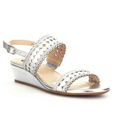 alex marie silver elsa sandals