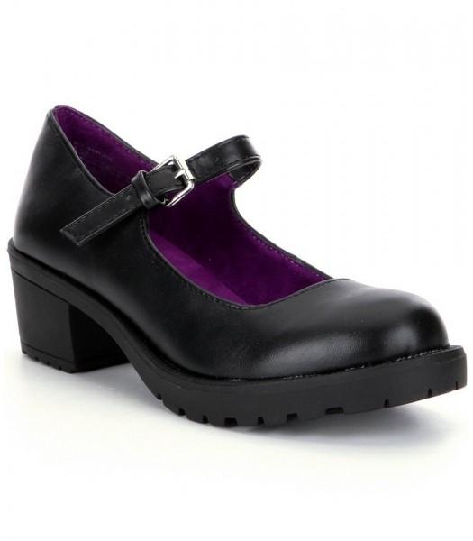 kenneth cole black mary jane girls shoes wt block heel