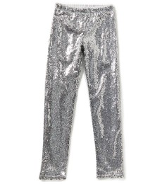 gb girls silver sequin girls leggings