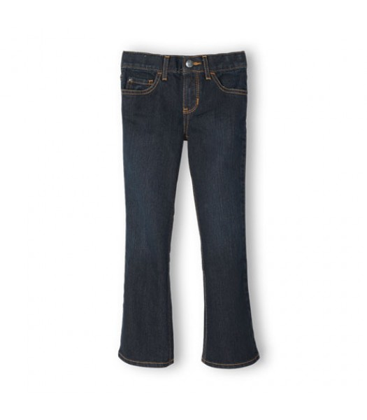 childrens place blue bootcut odys girls jeans