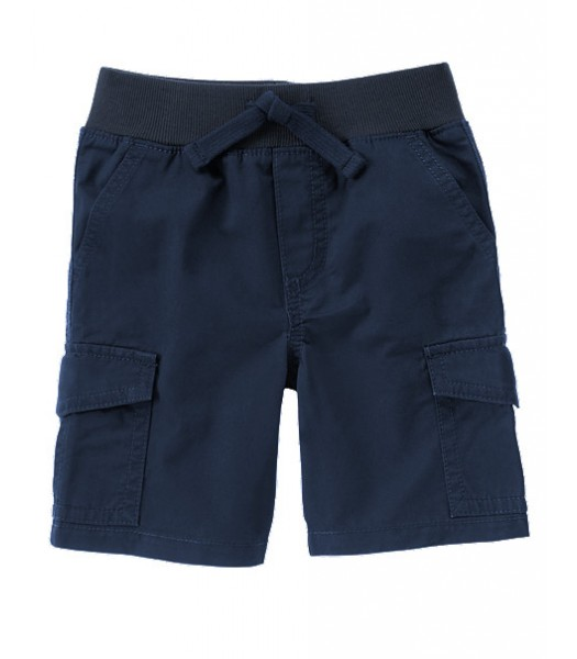 gymboree navy pull on cargo boys shorts