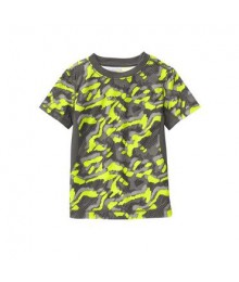 gymboree green/grey camo tee