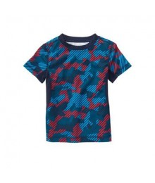 gymboree blue/red camo tee
