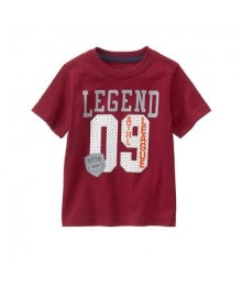gymboree red legend 09 tee
