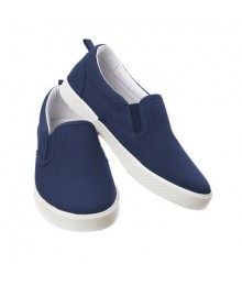 crazy 8 navy slip on boys sneakers