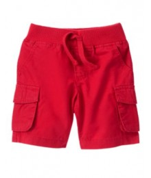 crazy8 red cargo shorts
