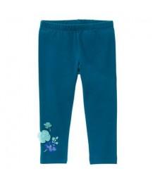 gymboree green floral appliq leggings  Little Girl