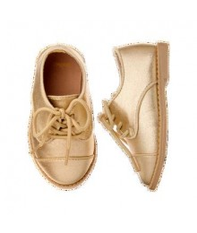 gymboree gold girls shimmer shoes