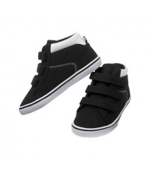crazy 8 black/white high top sneakers