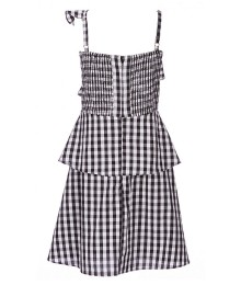 Gb Girls Black/White Ruffle Dress
