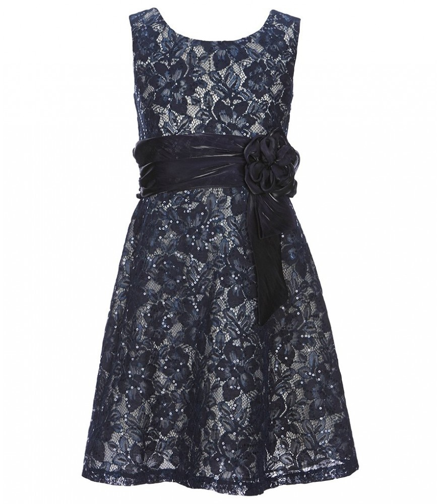 e296e49ba Bonnie Jean Navy Sequin Lace Dress. ₦13,950.00 NGN