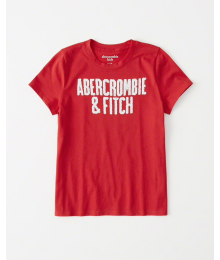 Abercrombie Red Girls Sequin Abercrombie & Fitch Tee
