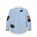Polo Ralph Lauren Blue Patchwork With Skull L/S Shirt
