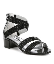 Nina Girls Black Sandals