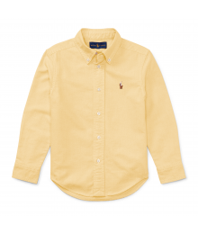 Polo Ralph Lauren Yellow Oxford L/S Shirt With Small Pony