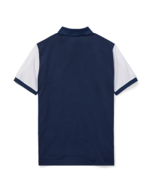 Polo Ralph Lauren Blue/White/Red Performance Polo Shirt