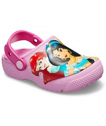 Crocs Pink Disney Multi-Princess Clog