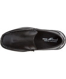 Deer Stag Black Boys Loafers  Shoes