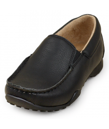 CHILDRENS PLACE BLACK BOYS SLIP ON DRESS SHOES Shoes