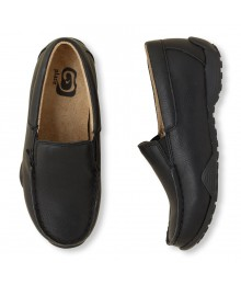 CHILDRENS PLACE BLACK BOYS SLIP ON DRESS SHOES