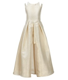 Tween Diva Gold Maxi Romper / Dress
