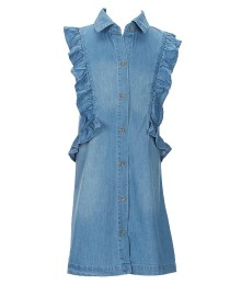 Copper Key Blue Denim Dress