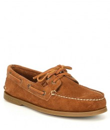 Sperry Top-Sider Brown Suede Original Boat Shoe - Adult Size