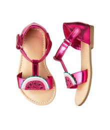 Gymboree Dark Pink Melon Sandals