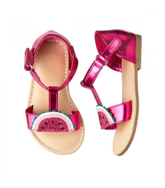 Gymboree Dark Pink Melon Sandals