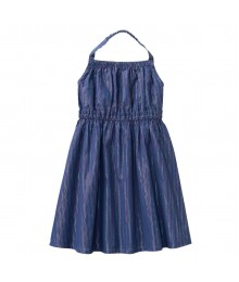 Crazy 8 Navy Sparkle Stripe Dress