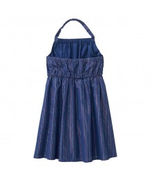Crazy 8 Navy Sparkle Stripe Dress