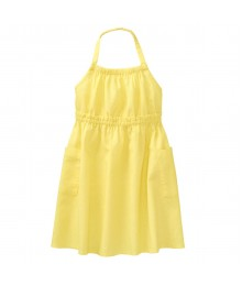 Crazy 8 Yellow Halter Midi Dress  Little Girl