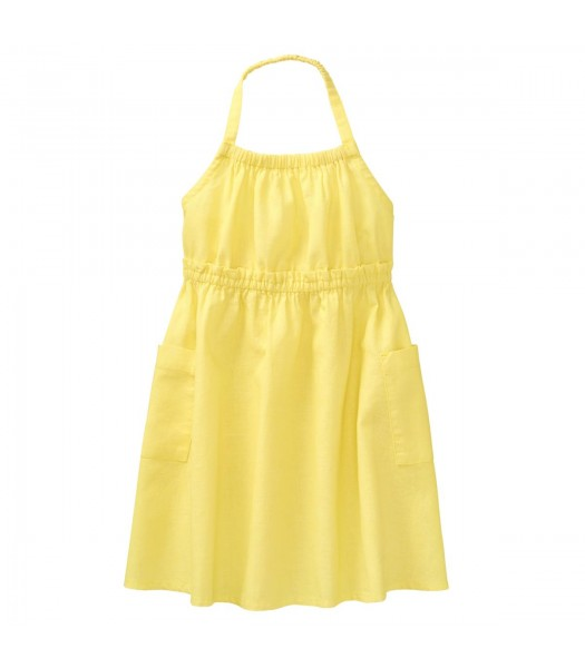 Crazy 8 Yellow Halter Midi Dress  Little Girl