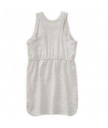 Crazy 8 Grey Sleeveless Stay Cool Tank Dress  Little Girl