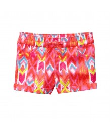 Gymboree Pink  Multi Roll-Up Shorts