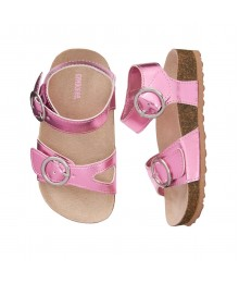 Gymboree Rose Pink Metallic Sandals