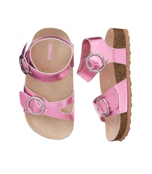 Gymboree Rose Pink Metallic Sandals