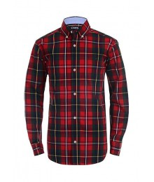 Chaps Red/Green Blue Plaid Multi L/S Shirt