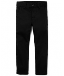 childrens place blak skinny husky trousers