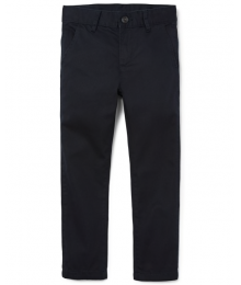childrens place navy skinny regular trousers (chinos)