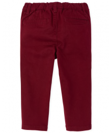 Childrens Place Red Skinny Chino Pants