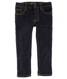 Oshkosh Bgosh Blue Denim True-Rinse Skinny Boys Jeans Big Boy