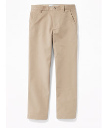 Old Navy Flax Straight Flex Chino Trousers - Husky