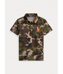 Polo Ralph Lauren Camo Paint Splatter Big Pony Polo Big Boy
