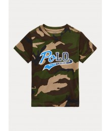 Polo Ralph Lauren Logo Camo Cotton Tee Big Boy