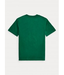 Polo Ralph Lauren Green Polo Bear Cotton Jersey Tee Big Boy