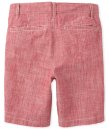 Childrens Place Hampton Red Shorts Big Boy