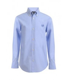 Chaps Blue Check Long Sleeve Shirt